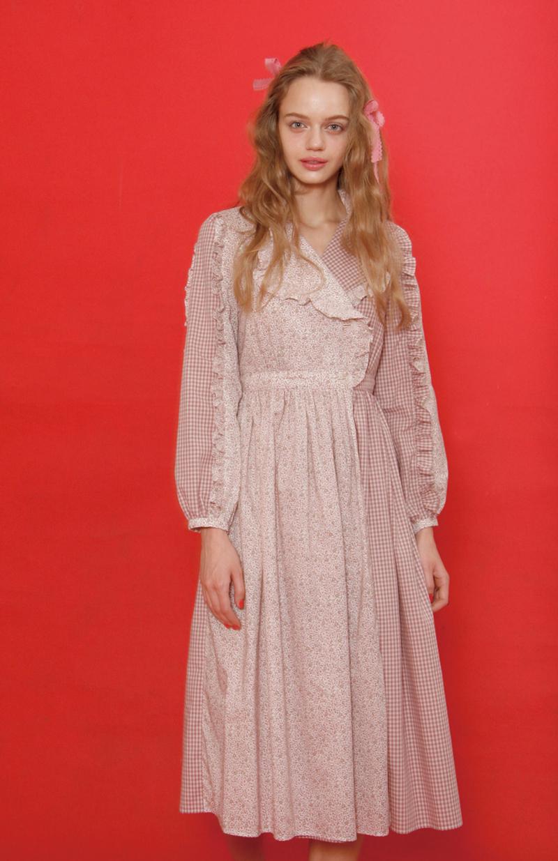 ティアナフラワー dress