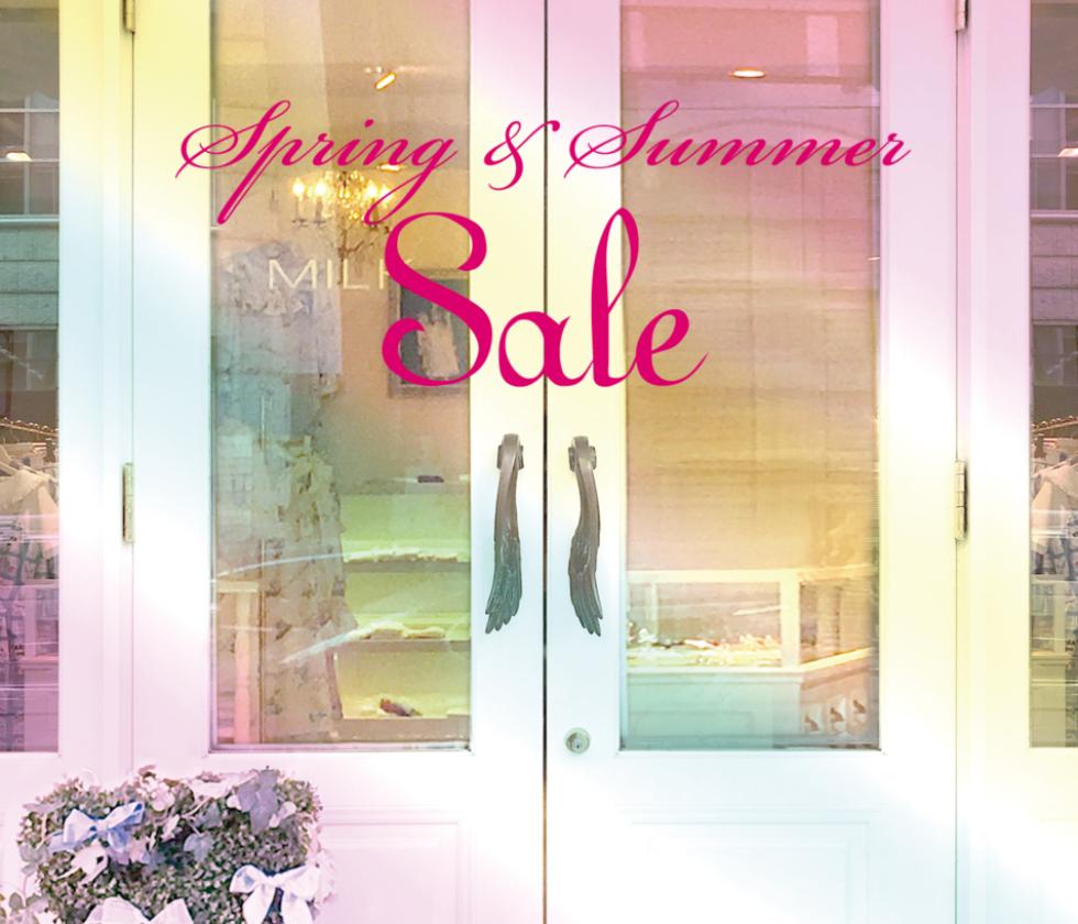 2018 Spring Summer Sale