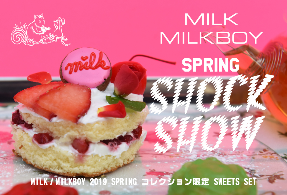 "MILK  MILKBOY× VIXEN CAFE ""COLLECTION SWEETS SET"""