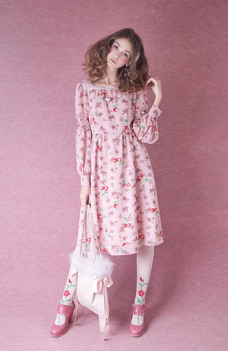 チェリーローズ dress