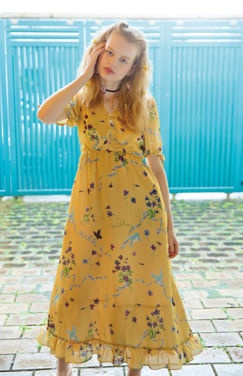 ブルーバード dress