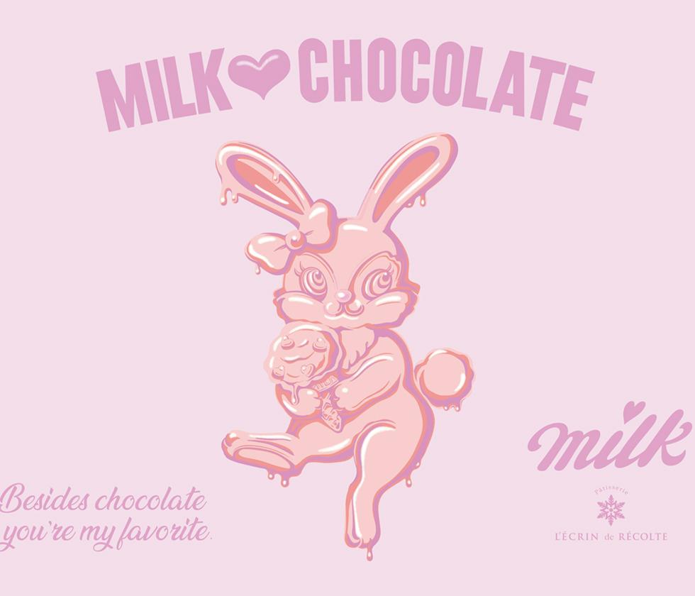 MILK × Lecrin de Recolte コラボスイーツ♡