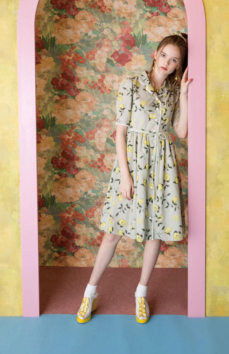 ハニーレモン dress